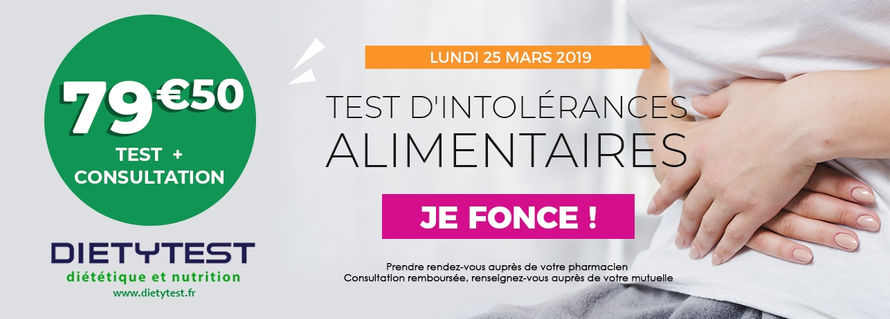 Test intolerance alimentaires