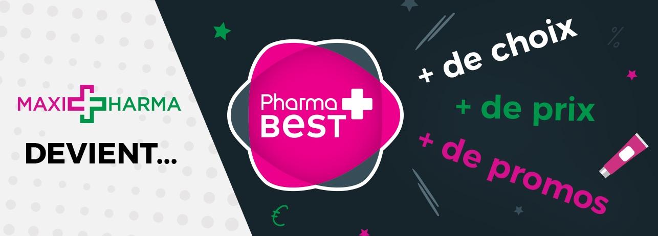 Maxipharma devient Pharmabest
